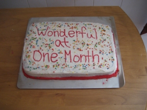 HAPPY 1 MONTH OF BLOGGING